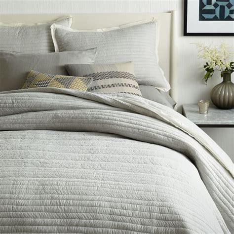 striped coverlet mini stripe coverlet shams west elm