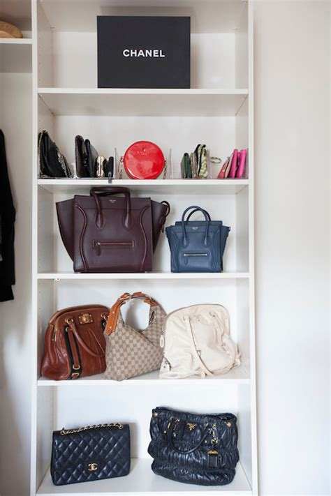 How To Make A Suitcase Shelf by Closet Bag Shelves Design Ideas