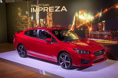 2017 subaru impreza sedan black 2017 subaru impreza hatch and sedan gallery photos 1 of 20