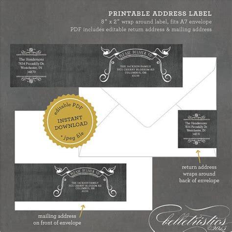 printable halloween address labels chalkboard wrap around address labels printable