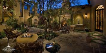 Backyard Landscapes On A Budget Courtyard Landscaping Design Gilbert Phoenix Scottsdale
