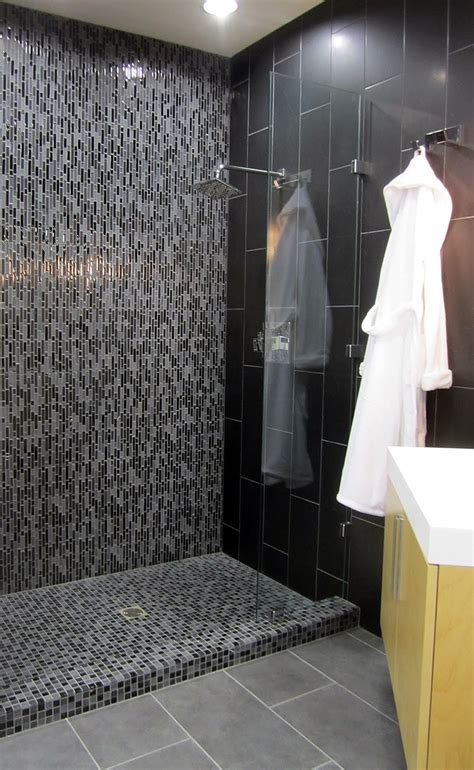 Modern Bathroom Tile Inspiration 17 Best Ideas About Glass Tile Shower On