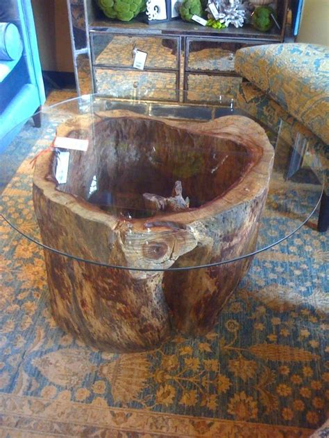 15 photo of tree stump coffee table with 25 best ideas about tree trunks on tree trunk