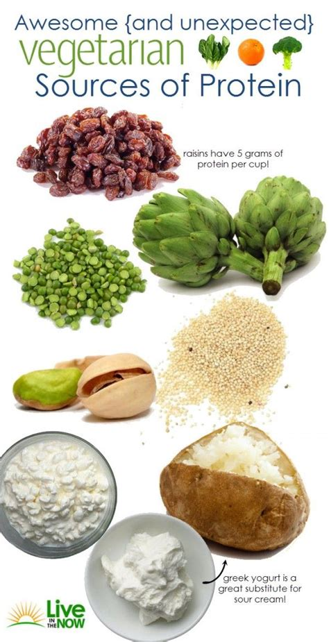 Sources Of Protein by 8 High Protein Foods For Vegetarians Live In