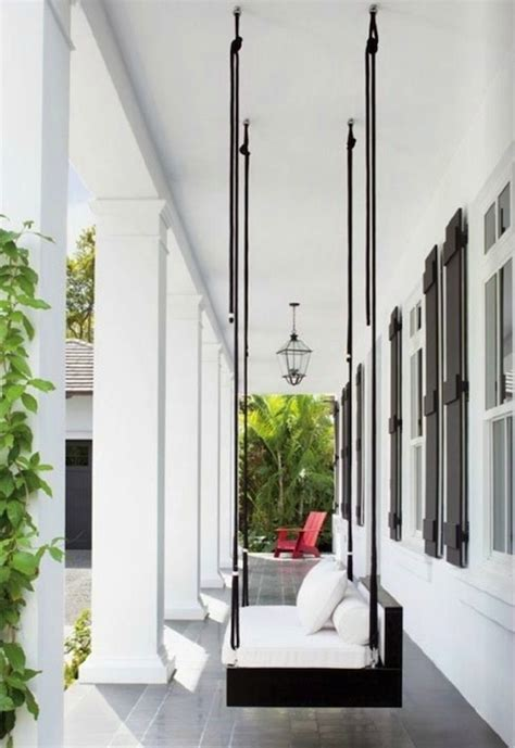 modern outdoor swing modern porch swing living spaces outdoor pinterest