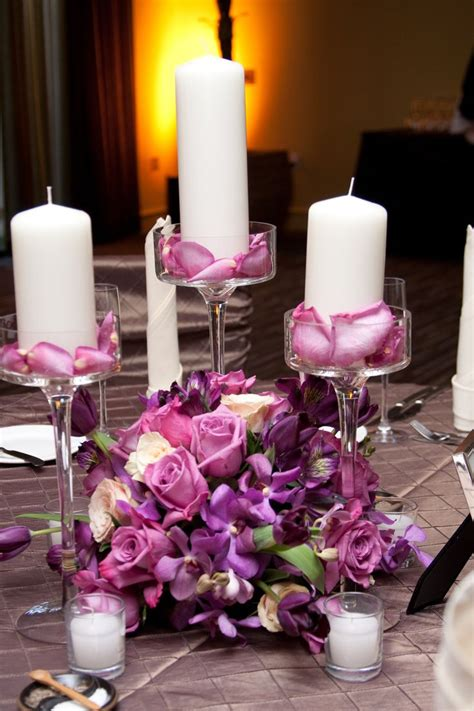 303 Best Candle Wedding Centerpieces Images On Pinterest Wedding Reception Centerpieces Candles