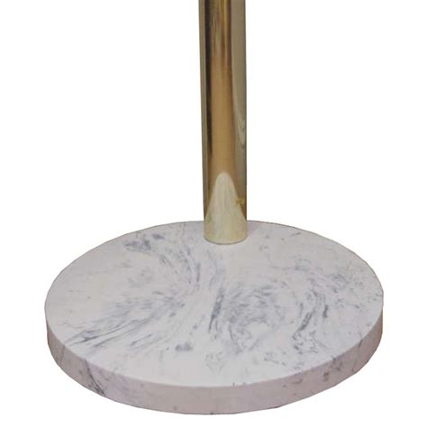 arc l marble base brass arc l with marble base 1960s for sale at pamono
