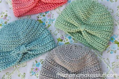 tutorial turban baby nancy s nice knots of crochet google search diy