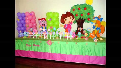 simple birthday decorations at home at home birthday party decoration ideas for kids youtube