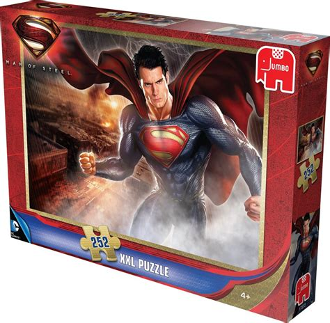 jigsaw film equipment superman man of steel movie jigsaw puzzle 252 piece extra