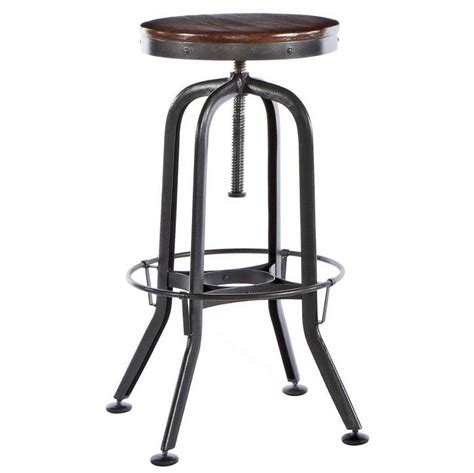 Vintage Bar Table And Stools Hashleich Vintage Bar Stool Industrial Strength With Adjustable Height By Vint8892 Bar Stools