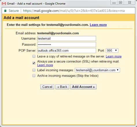 Office 365 Mail On Gmail Office 365 Mail To Gmail 28 Images Microsoft