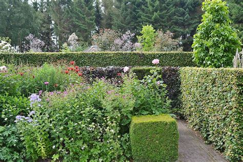 foto s het tuinpad op in nachbars garten