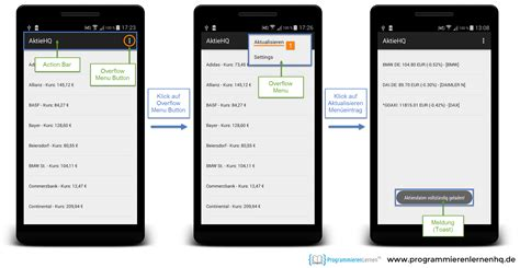 android xml android tutorial android app programmieren entwickeln