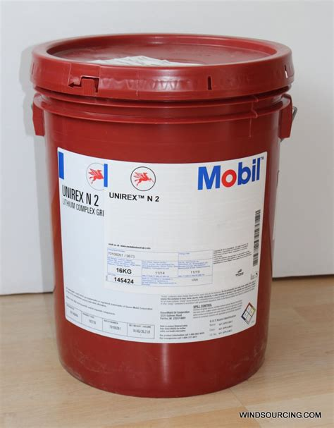 Spare Part Mobil Up mobil unirex n 2 16 kg drum lithium complex grease