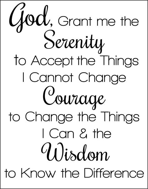 printable version serenity prayer 6 best images of aa serenity prayer printable serenity
