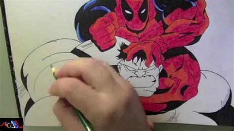 imagenes de wolverine vs deadpool dibujando a deadpool vs hulk youtube