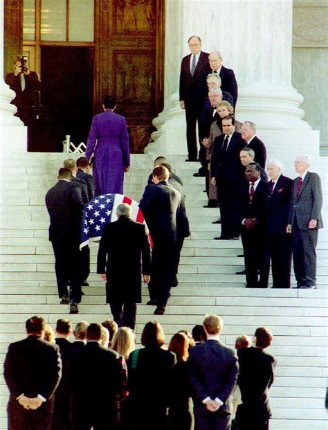 Supreme Justice in photos a history of official funerals for