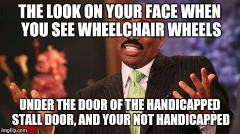Handicap Meme - steve harvey meme imgflip