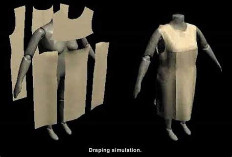 fabric draping software mtom3d made to measure garments
