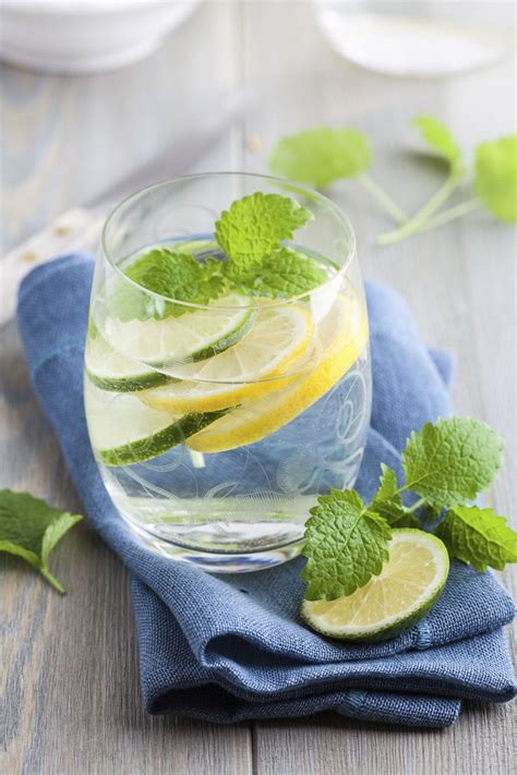 Lemon And Cucumber Detox Water by The Detox With These Water Additions