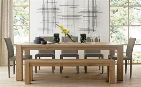 esstisch mehr als 1000 ideen f 252 r das moderne esszimmer - Crate And Barrel Esszimmer Stühle