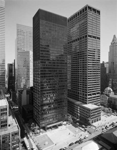 ludwig mies van der rohe the seagram building new york gallery of ad classics seagram building mies van der