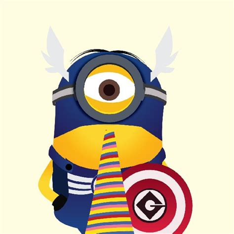 captain america minion wallpaper cute superhero wallpaper wallpapersafari