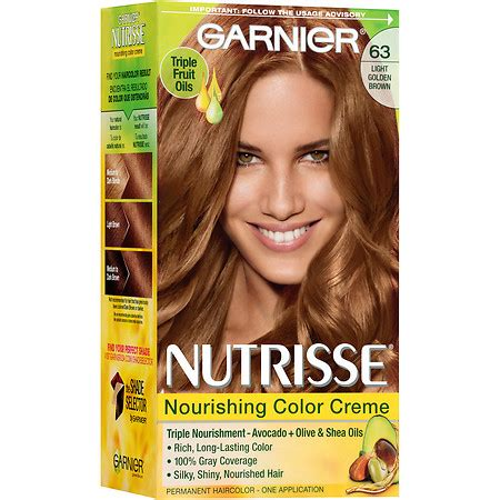 garnier fructis hair dye colors garnier nutrisse permanent haircolor walgreens
