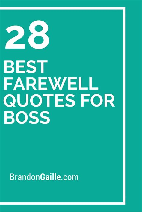 farewell quotes  boss farewell quotes boss  retirement
