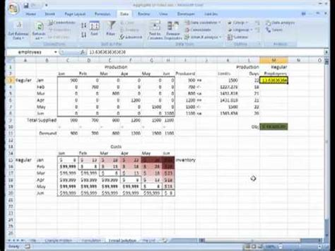 logistics excel templates aggregate planning on microsoft excel transportation