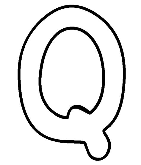 letter q coloring book coloring pages