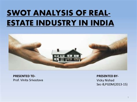 Mba In Real Estate Management In India by Presentation On Real Estate Industry In India