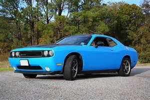Blue Dodge Challenger Matte Blue Challenger Color Change With Accent Car