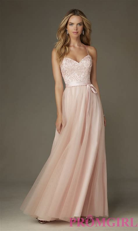 Prom Dresses by Mori Prom Dress With Bow Promgirl