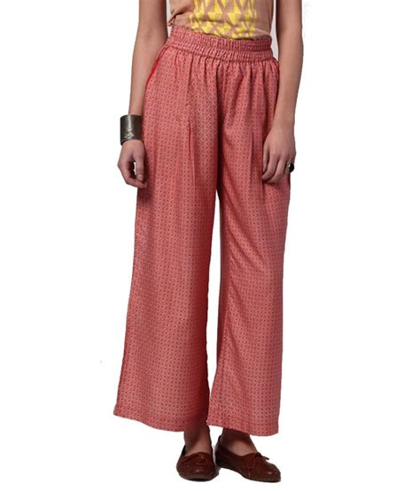 light pink palazzo pants 60 off on yepme pink polyester palazzo pants on snapdeal