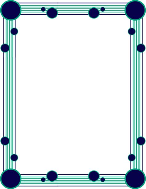 circle line border 3   /page frames/simple ornamental/line