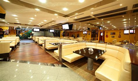 interior design european cafe beautiful interior of modern restaurant stock image