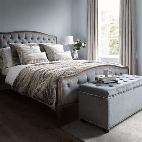 chantal bed super king size grey linen bed linens
