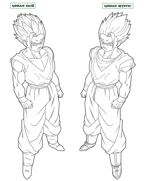 Goku Ssj2 Coloring Pages   Coloring Home