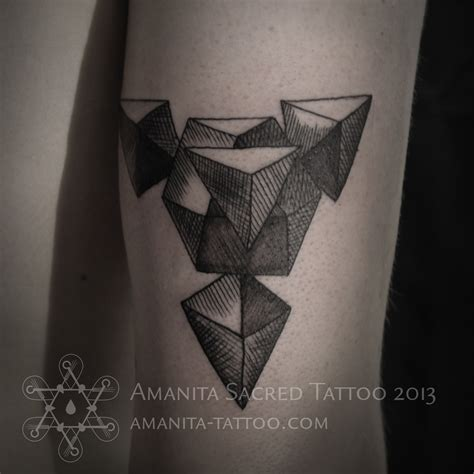 geometry tattoo sacred amanita sacred geometry