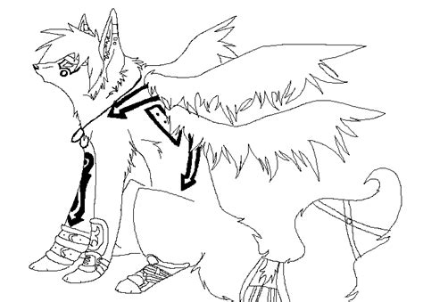 anime wolf coloring page anime wolves fighting coloring pages coloring pages
