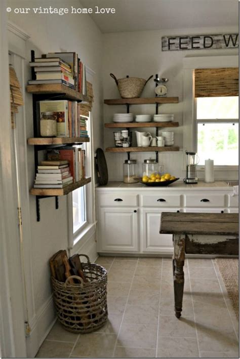 kitchen shelves feature friday our vintage home love southern hospitality
