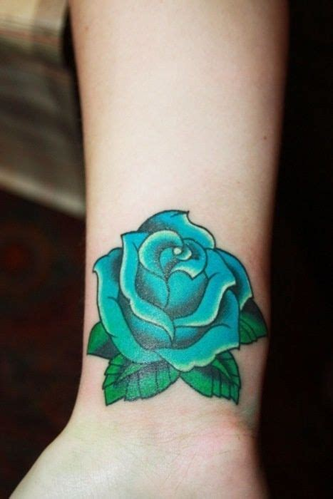tattoos of blue roses best 20 blue tattoos ideas on