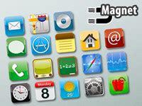 Gute Motive 5406 by Originelle Xl Magnete Im App Design 18 Verschiedene