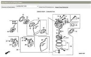 Honda Gcv190 Carburetor Honda Gcv160 Carburetor Diagram Pictures To Pin On