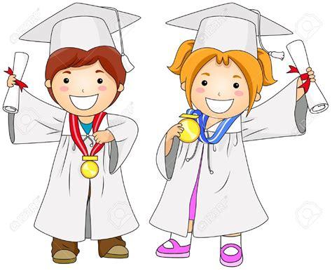 imagenes infantiles graduacion dibujos de ni 241 os graduados a color buscar con google
