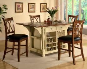 Kitchen Island Table With 4 Chairs small kitchen table and chairs best furniture to choose