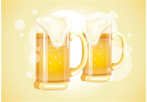 beer vector glass beer vector download free vector art stock