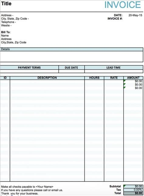 band invoice template band invoice template tomahawk talk invoice exle